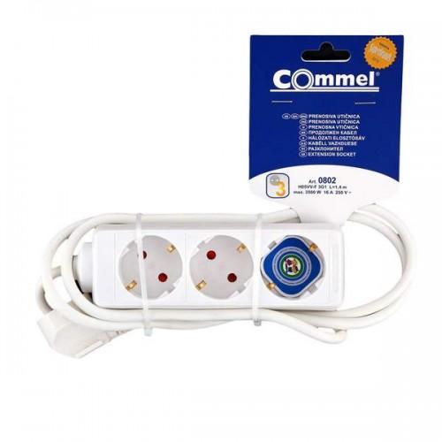 Produžni kabel 0802 3/1,4 m bijeli
