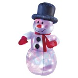 Snjegović na napuhavanje 120 cm LED 176 - 25535675