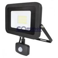 LED reflektor Profi line crni sa senzorom 50W, 4000Lm, 307-255