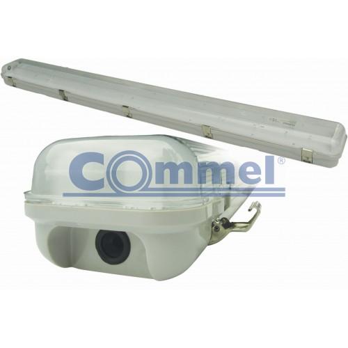 FLUO svjetiljka vodotijesna 2 x 18W, IP 65, elektronska prigušnica, 344-303