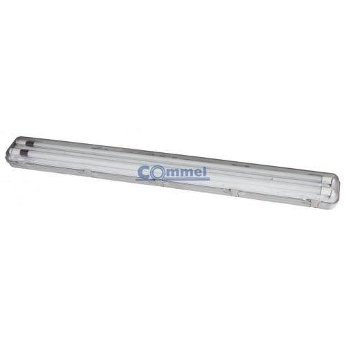 LED svjetiljka vodotijesna  2x 18W, 120cm, IP 65, 6500K, 344-611