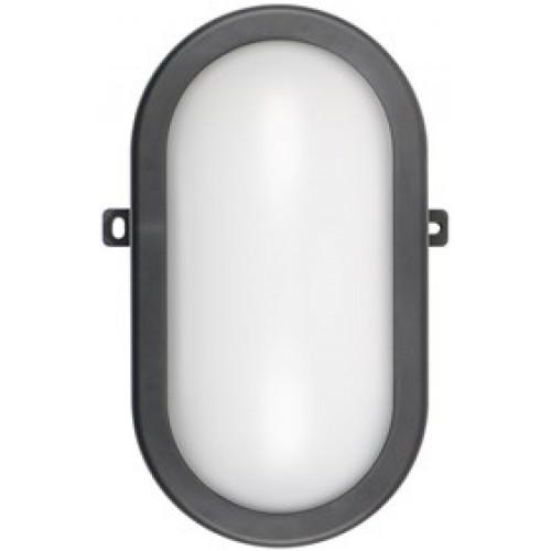 LED svjetiljka 12W, IP54 zaštita, 780Lm, crna 407-512