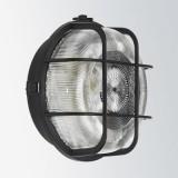 Zidna/stropna svjetiljka 100W crna 66001