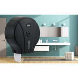 "Nosač toaletnog papira ""Jumbo mini"" - Crna MJ1B"
