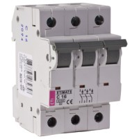 Automatski osigurač 3-polni C 16A Etimat 6