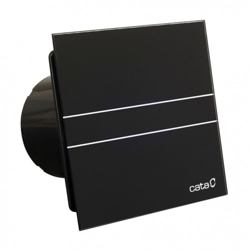 Ventilator CATA ugradbeni bešumni E-100 G BK crni