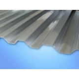 Krovna ploča Gutta polikarbonatna Macro Klima Grey siva 2000x1045x0,8 mm