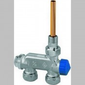 Heimeier jednocijevni radijatorski ventil ravni E_Z 3876.02-000