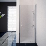 Aquaestil okretna vrata Oasis D za nišu 100cm bijeli / prozirno