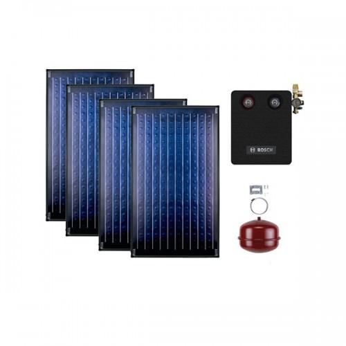 BUDERUS solarni paket SKN 2K (kosi krov) Light