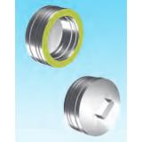 Aluminato dimovodni element zatvarač cijevi s ručkom Ø 160